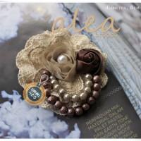 ALEA brooch - simply - handmade