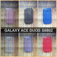 SAMSUNG GALAXY ACE DUOS S6802 - SOFTCASE JELLYCASE SILIKON KONDOM