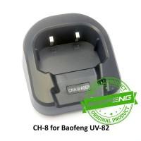 Charger Dock Baofeng UV82 Pofung UV-82 Original