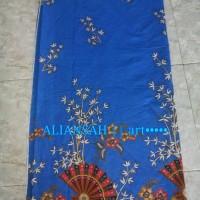 harga Kain Batik Kipas Bambu Blok Biru Tokopedia.com