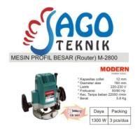 Mesin Profil Besar / Mesin Router Modern M2800 / M 2800 / M-2800
