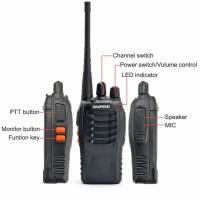 HT Handy Talky Radio UHF Walkie Talkie Murah Handi Talki Walki Talki