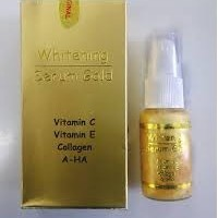 Jual ((MURAH)) Serum Gold Original Pemutih Kulit Wajah/Penghilang Flek/obat Murah