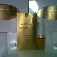 Jual (DISTRIBUTOR) Serum Gold Ori Pemutih Kulit Wajah/Penghilang Flek/obat Murah