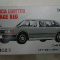 Lv N102b Nissan Gloria 4 door (grey) TLV Tomica Limited Vintage Neo