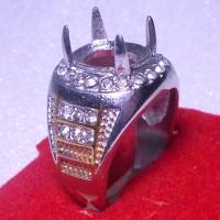 harga Cincin Titanium Untuk Batu Akik/Permata - TZ 29 Tokopedia.com