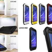 Jual Love Mei Powerful Armor Case Hard Soft Cover Sony Xperia T2 Ultra