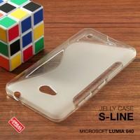 Microsoft Lumia 640 Soft Gel Jelly Silicon Silikon TPU Case Softcase