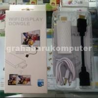 HDMI Wireless Display Putih Dongle Adapter Lebih Baik Dari EZCast