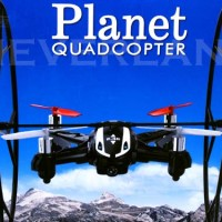 R/C PLANET QUADCOPTER LS-116 CAMERA / REMOTE CONTROL HELICOPTER/ DRONE