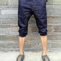 harga Celana Pria Jeans Joger Pendek Blue Garment Tokopedia.com