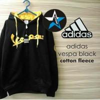 harga Jaket Sweater Adidas Vespa Hitam Kuning For Man Tokopedia.com