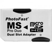 PhotoFast for PSP (Adapter Dual MicroSD to Memory Stick Pro Duo)