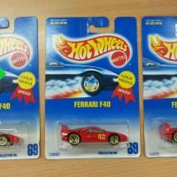 Hot Wheels Ferrari F40 Gold Medal Speed