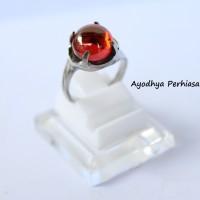 harga Cincin Batu Diamond Polos Orange - Cincin Batu Wanita - Cincin Silver Tokopedia.com