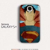 Superman Vintage Samsung Galaxy S4 Custom Hard Case