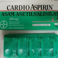 Cardio Aspirin - Bayer - Obat pengencer darah
