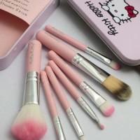kuas hello kitty make up kit brush blush on eye shadow bibir lipgloss
