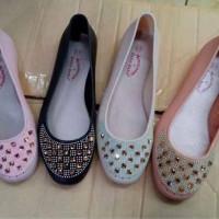Flat Hoes Sepatu Wanita Jelly Bara2 Mutek