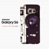 Zorki Vintage Camera Samsung Galaxy S6 Custom Hard Case