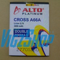 Battery Batre Baterai Batrei Cross / Evercoss Elevate Y A66a 3600mah