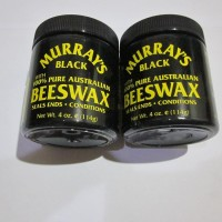 POMADE MURRAY'S BLACK BEESWAX 4OZ FREE SISIR