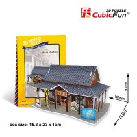 3D Puzzle taiwan series by cubic fun