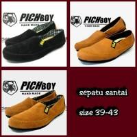 Sepatu Santai Casual Slip On Slop Pichboy