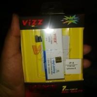 harga Batery Baterai Batere Battery  Apple Iphone 5g Merk Vizz 20 Tokopedia.com