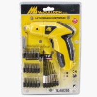 Bor Charger tanpa Kabel McCULLOCH / FISCH / Cordless Screwdriver / Bor