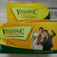 Vitalong C botol 30 kapsul kemasan baru! - multivitamin