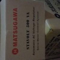 harga STAVOLT MATSUGAWA 500VA Tokopedia.com