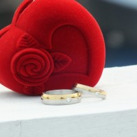 harga cincin couple/GOLD N SILVER RING Tokopedia.com