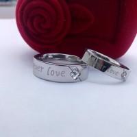 harga cincin couple/FOREVER LOVE SILVER Tokopedia.com