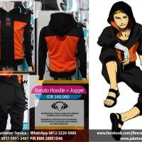 Jaket Sport Naruto Hoodie + Jogger