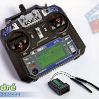 "Transmitter FlySky ""FS-i6"" (6-Channel) + Receiver ""FS-iA6"""