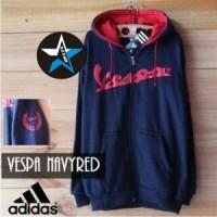 harga Jaket Sweater Vespa Adidas Navy Red For Vespa Maniac Tokopedia.com