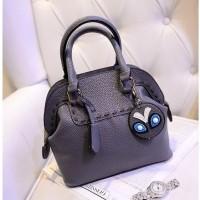 harga Tas Jinjing Abu Gray Wanita Import Kulit Pu Hobo Hand Bag Pergi Mall Tokopedia.com