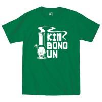 kaos / t-shirt : Kim Bong Un Marijuana Leaf Pot Weed Smoke 420 Legal T
