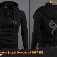 Anbu Hi-Neck Jacket Hoodie (Jaket Anime Naruto)
