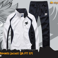 harga Fairy Tail Sport Jacket (Jaket Anime Fairy Tail) Tokopedia.com