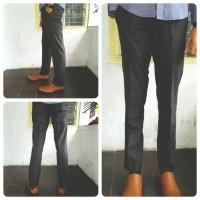 Celana Bahan Kantor Formal Model Slim Fit & Reguler Pria / Cowok Lengkap