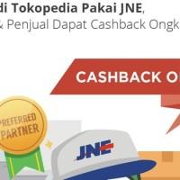 PROMO CASHBACK 2% Ongkir khusus JNE!!