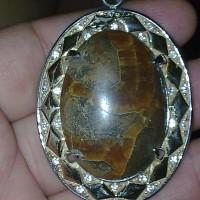 fosil manigajah liontin 2