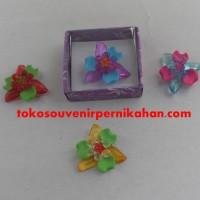 Jual Souvenir Pernikahan Bros Bunga Kriting Murah