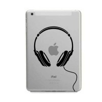 Tokomonster Decal Sticker Apple iPad Mini and Air - Head Speaker