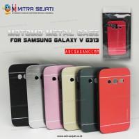 Samsung Galaxy V G313 Case Cover Motomo Metal (abcsaganccmm)