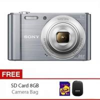 Sony Camera Cybershot DSC-W810 +Memory 8GB + Tas