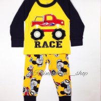 Piyama Mothercare Yellow Truck