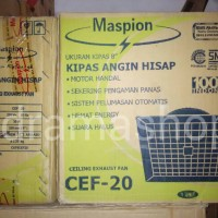 harga Kipas Angin Hisap Atap Maspion Cef 20, Ceiling Exhaust Fan Tokopedia.com